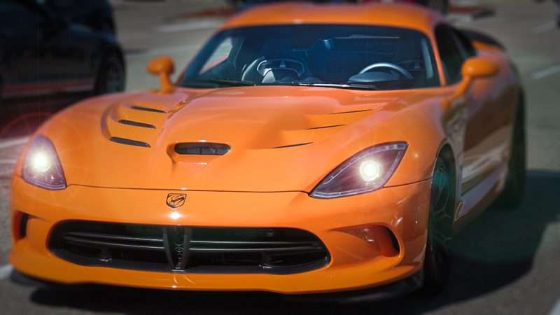 Ta Orange Dodge Viper Wob Brandon Photo News 247