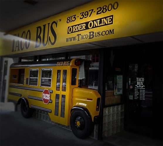 Nov 11, 2015 - Taco Bus in Downtown Tampa on Franklin Street/photonews247.com