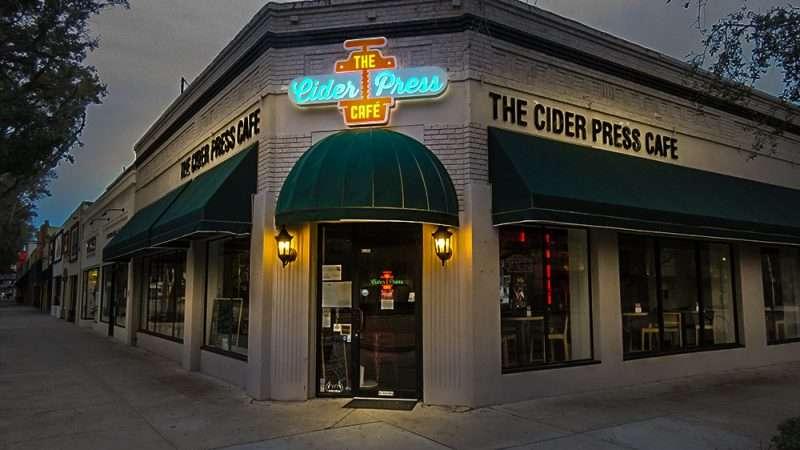Jan 31, 2016 - The Cider Press Cafe, Central Ave, St Petersburg, FL/photonews247.com