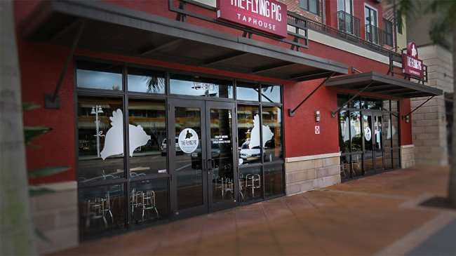 Jan 31, 2016 - The Flying Pig restaurant serves craft beers and bar bites in the Edge District, Central Ave, St Petersburg, FL/photonews247.com