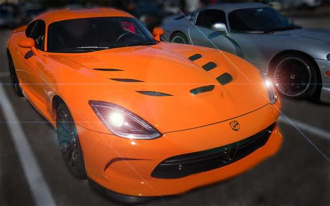 Feb 14, 2016 - Two Dodge Vipers parked side by side in Brandon, FL at World of Beer/photonews247.com