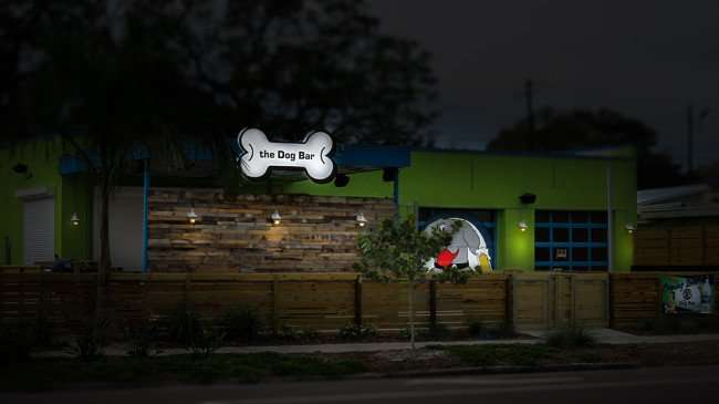 Jan 31, The Dog Bar in Grand Central District, Central Avenue, St Pete/photonews247.com