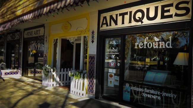 Mar 6, 2016 - Antiques Re-Found, vintage jewelry, furniture, collectables in St Petersburg, FL/photonews247.com