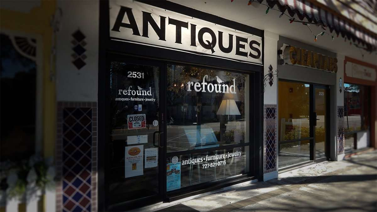Mar 6, 2016 - Antiques refound, entrance on Central Ave, St Petersburg, FL/photonews247.com