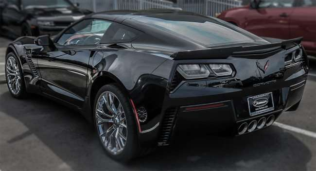 Mar 17, 2016 - Black Corvette 2016 at Ferman Chevrolet, Tampa, FL/photonews247.com