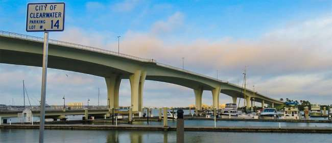 Mar 13, 2016 - Clearwater Harbor Marina Yacht & Boat with bridge to Clearwater Beach/photonews247.com
