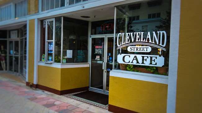 Mar 13, 2016 - Cleveland Street Cafe in downtown Clearwater, FL/photonews247.com
