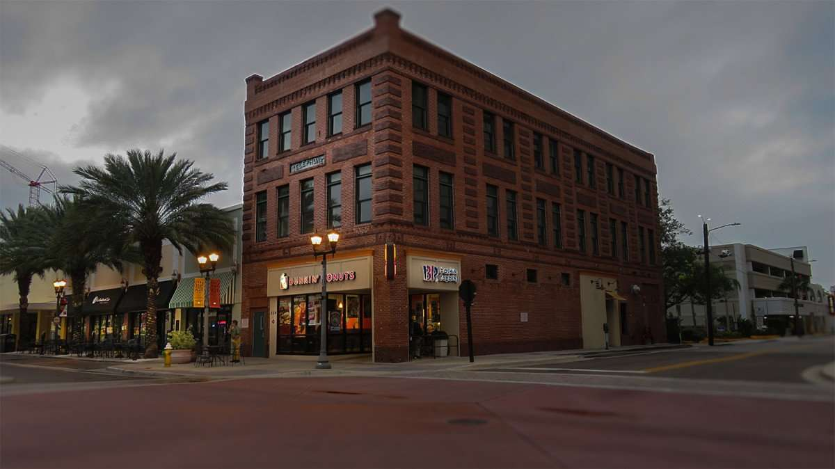 Mar 13, 2016 - Dunkin' Donuts Baskin Robbins in the historic Telephone building on Cleveland St. in Clearwater, FL/photonews247.com