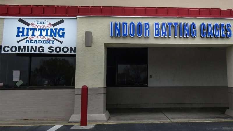 Mar 13, 2016 - Hitting Academy indoor batting cages, Brandon, FL/photonews247.com