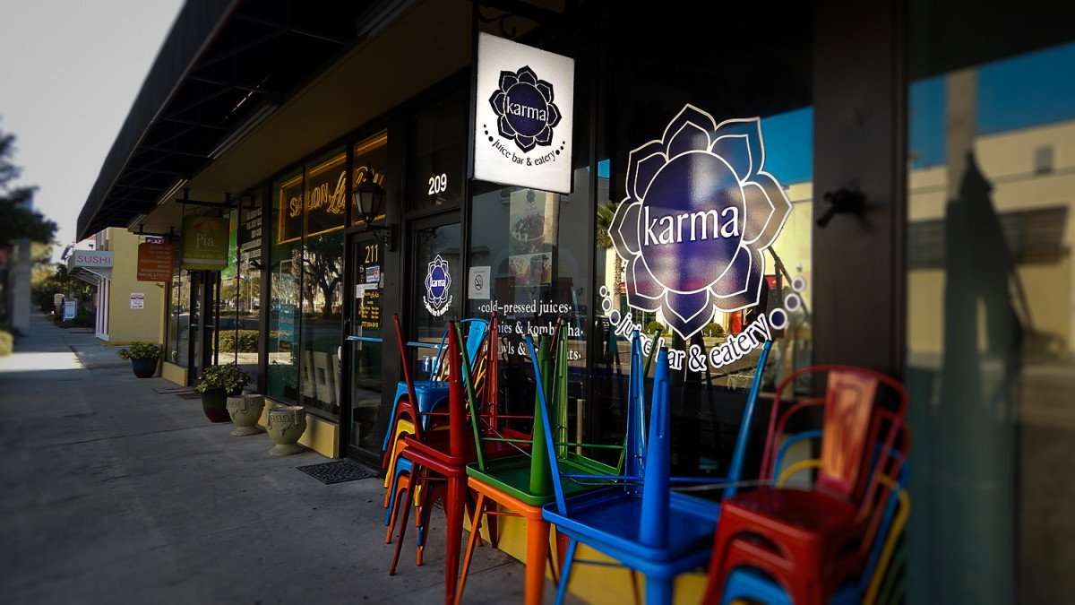 Mar 6, 2016 - Karma juice bar and eatery, St Pete, FL/photonews247.com