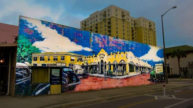 Mar 13, 2016 - Mural by Carl and Marianne Cowden, Cleveland Street and East, Clearwater, FL/photonews247.com