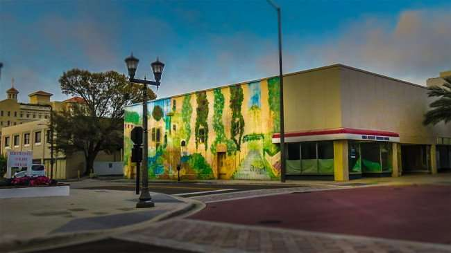 Mar 13, 2016 - Mural by Carl and Marianne Cowden III, Cleveland Street and East, Clearwater, FL/photonews247.com