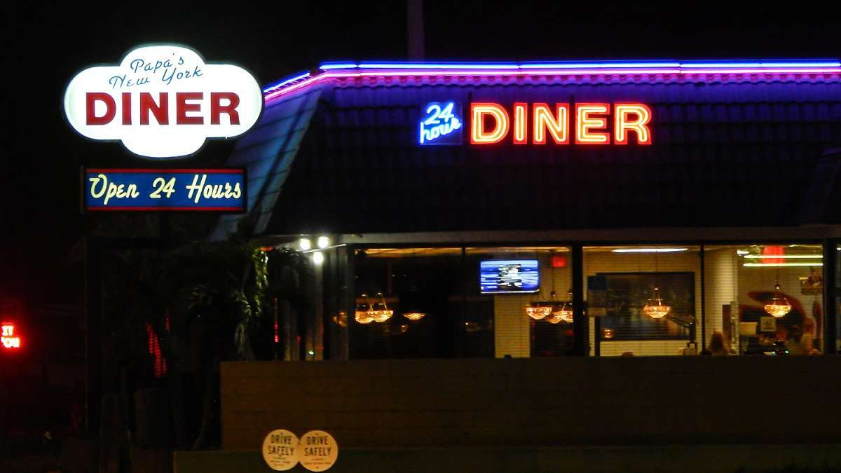 Mar 13, 2016 - Papa's New York Diner, 24 hours, Clearwater, FL/photonews247.com