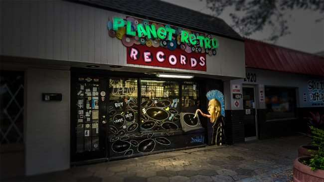 Jan 31, 2016 - Planet Retro Records, Grand Central District, St Pete, FL/photonews247.com