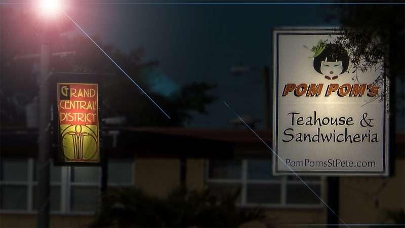 Mar 6, 2016 - Pom Poms Teahous & Sandwicheria, Grand Central District, St Pete FL/photonews247.com