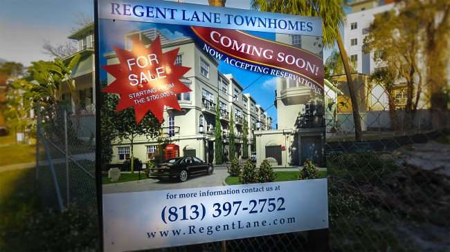 Feb 21, 2016 - Regent Lane Townhomes construction, St. Petersburg, FL/photonews247.com