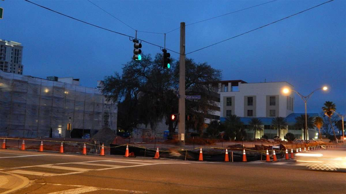 Mar 13, 2016 - Renovations at N Ft. Harrison Ave and Drew St, Clearwater, FL/photonews247.com