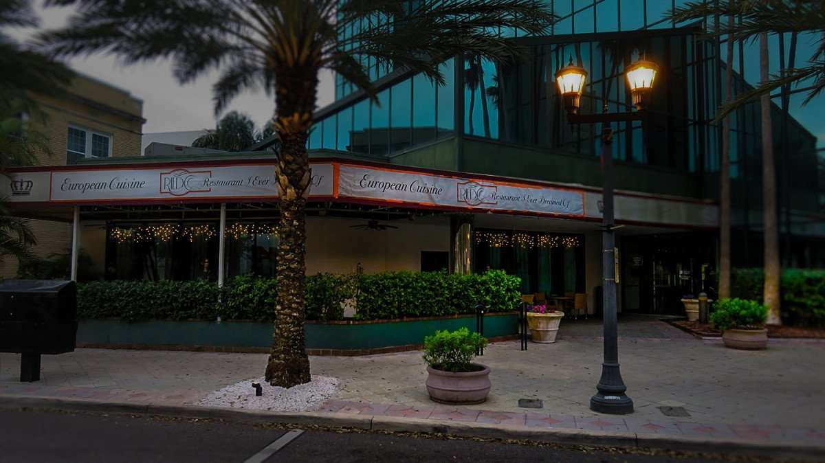 Mar 13, 2016 - Riedo Restaurant front entrance on Cleveland Street, Clearwater, FL/photonews247.com