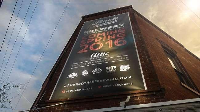 Mar 27, 2016 - Rock Brothers Brewery and Attic Records Ybor City Tampa Florida/photonews247.com