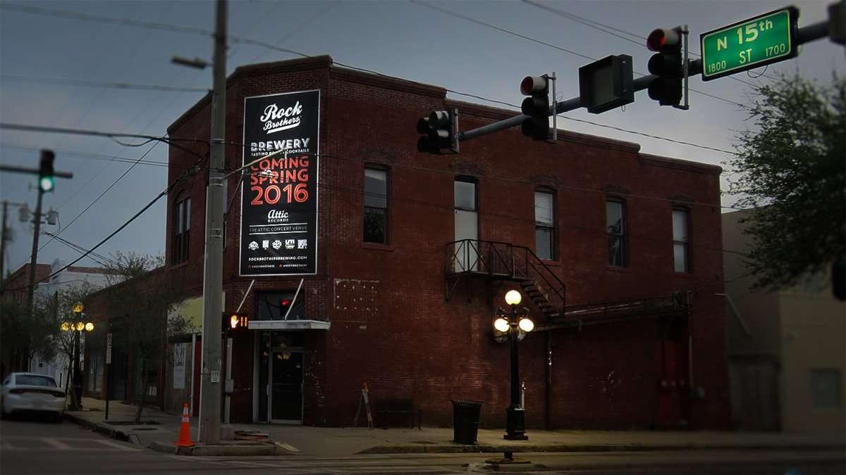 Mar 27, 2016 - Rock Brothers Brewing, Ybor City Tampa (coming soon)/photonews247.com