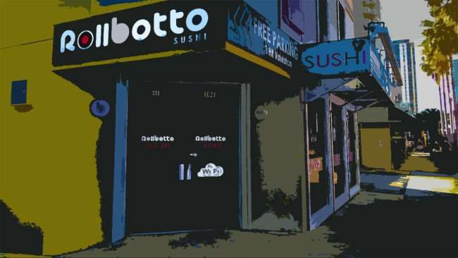 Mar 6, 2016 - Rollbotto Sushi St Pete poster art/photonews247.com