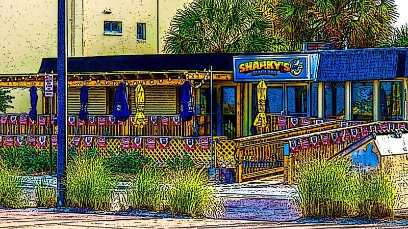 Sharky S Beach Bar Clearwater Beach Fl
