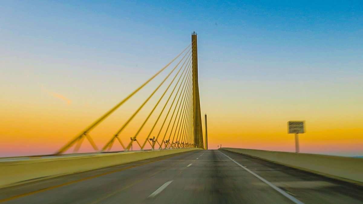 Mar 6, 2016 - Skyway Bridge over Tampa Bay/photonews247.com