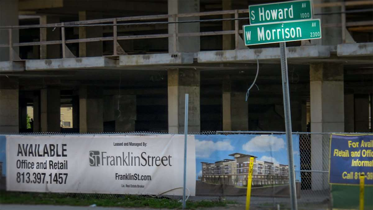 Mar 27, 2016 - The Morrison Apartments under construction at S. Howard and Morrison Ave, Tampa, FL/photonews247.com