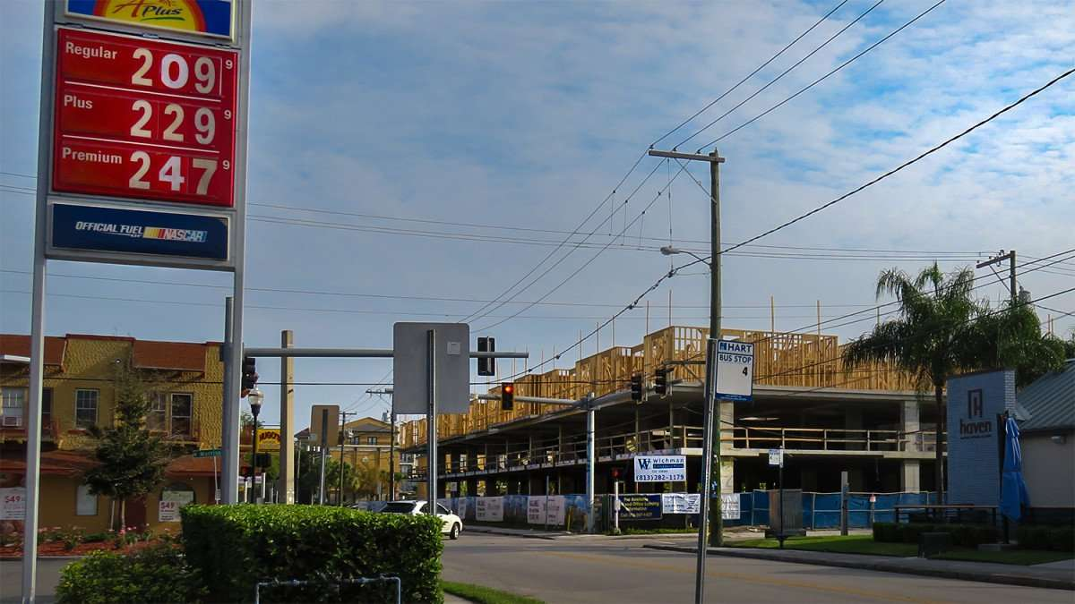 Mar 27, 2016 - The Morrison Apartments under construction at S. Howard Ave by Sunoco in Tampa, FL/photonews247.com