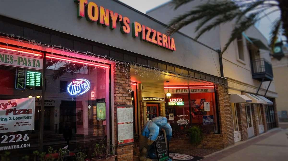 Mar 13, 2016 - Tony's Pizzeria Italian Restaurant, Clearwater, FL/photonews247.com