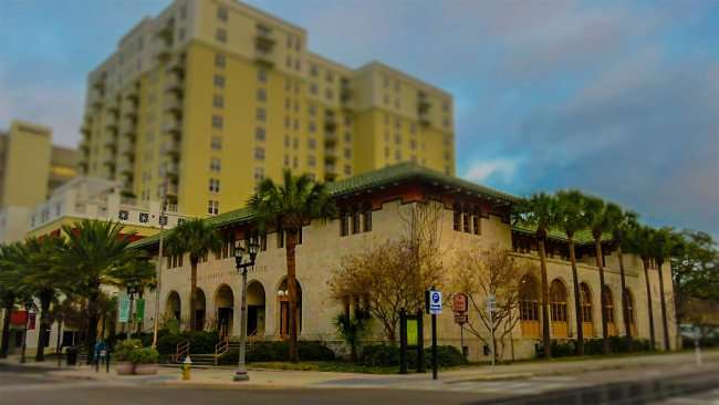 Mar 13, 2016 - United States Post Office and Station Square Condos on Cleveland Street, Clearwater, FL/photonews247.com