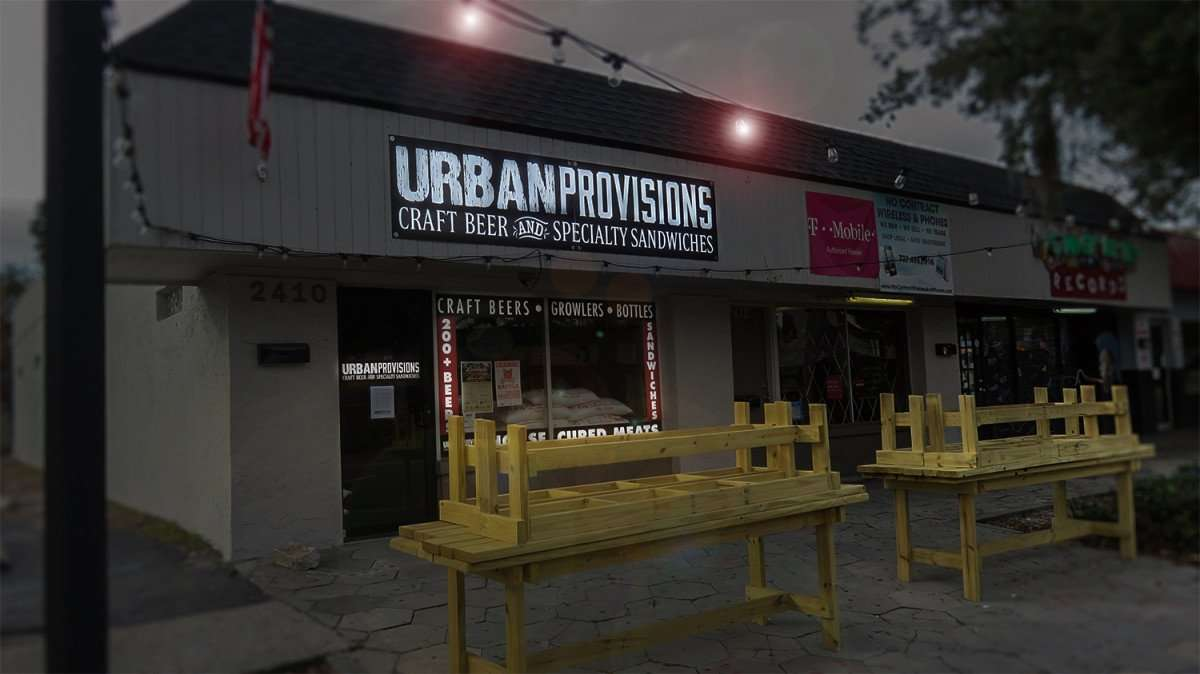 Jan 31, 2016 - Urban Provisions deli, craft beer, growlers, movies Grand Central District, St Pete, FL/photonews247.com