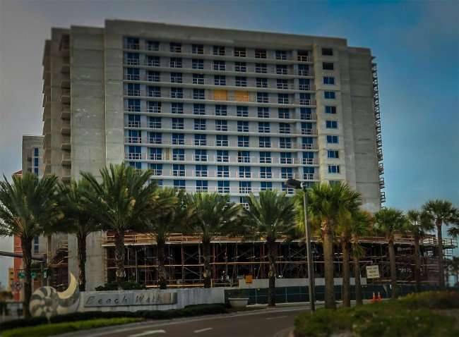 Mar 13, 2016 - Wyndham Grand Resort Clearwater Beach (construction)/photonews247.com