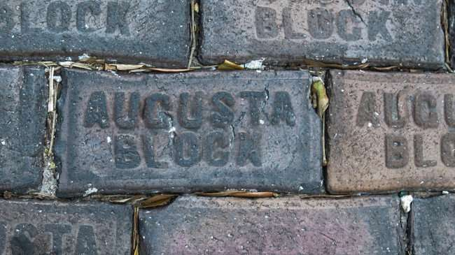 Feb 21, 2016 - Augusta Block bricks in alley off of Beach Drive in St Petersburg, FL/photonews247.com