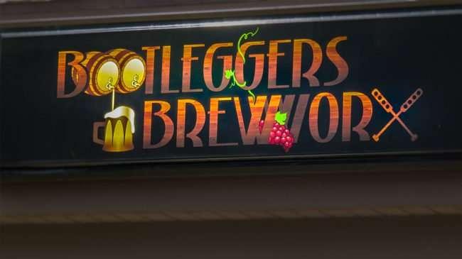 April 20, 2016 - Bootleggers Brewworx sign in Brandon, FL/photonews247.com