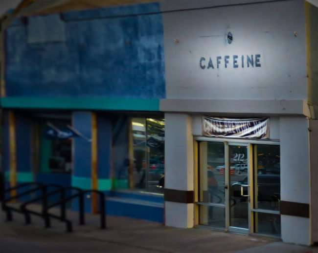 April 24, 2016 - Caffeine Tampa coffee shop by Element on Cass Street, Tampa/photonews247.com