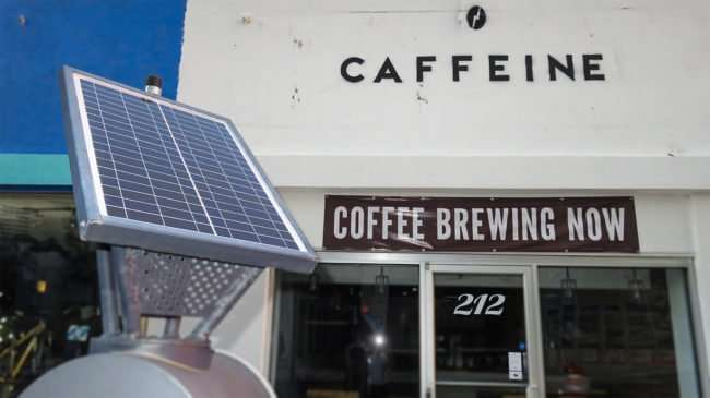 May 8, 2016 - #CaffeineTampa across from The Element/photonews247.com