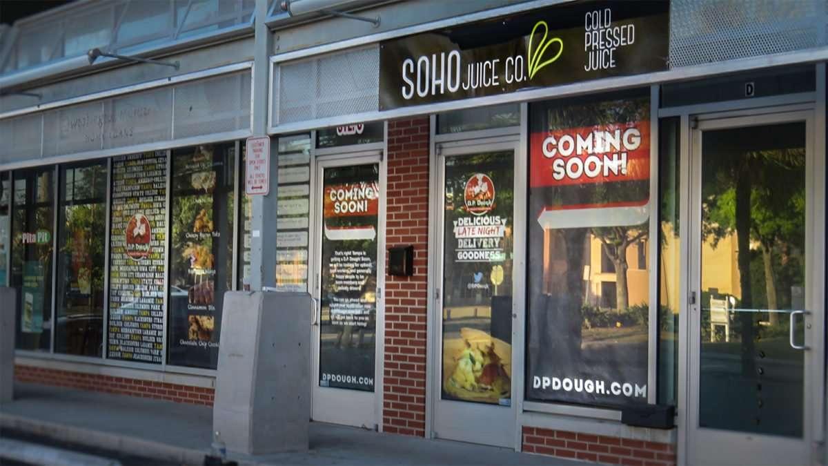 April 24, 2016 - D.P. Dough restaurant, South Tampa/photonews247.com