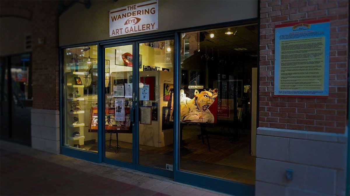 Mar 27, 2016 - Dennis Martin Art display at Wondering Eye Art Gallery, Ybor City Tampa/photonews247.com