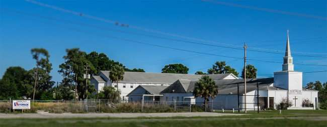 April 7, 2016 - Express Storage coming soon to US-41 Ruskin, FL next to Northside Baptist Church/photonews247.com