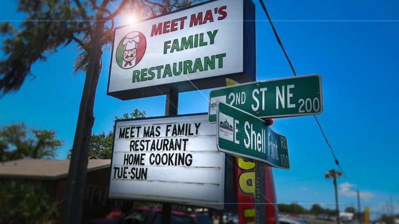 April 24, 2016 - Meet Ma's Family Restaurant Ruskin, FL/photonews247.com