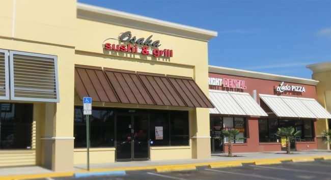 April 24, 2016 - Osaka Sushi & Grill in Carrollwood Tampa, FL/photonews247.com
