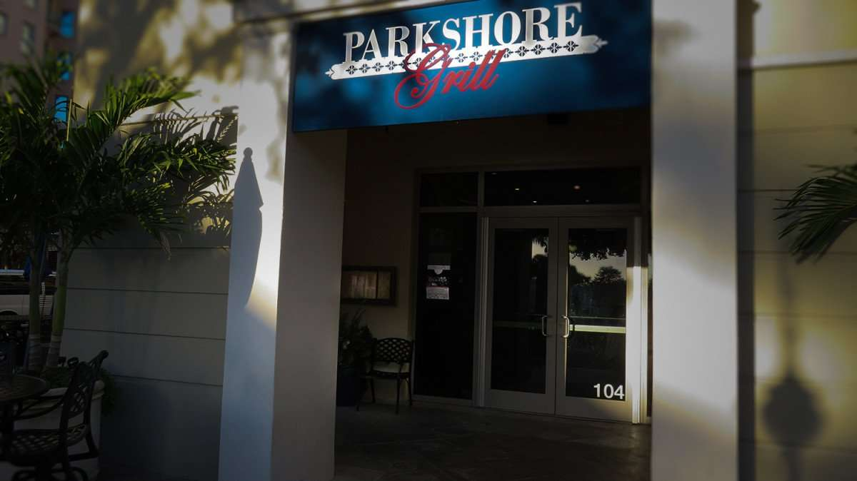 Feb 21, 2016 - Parkshore Grill entrance, St Pete, FL/photonews247.com