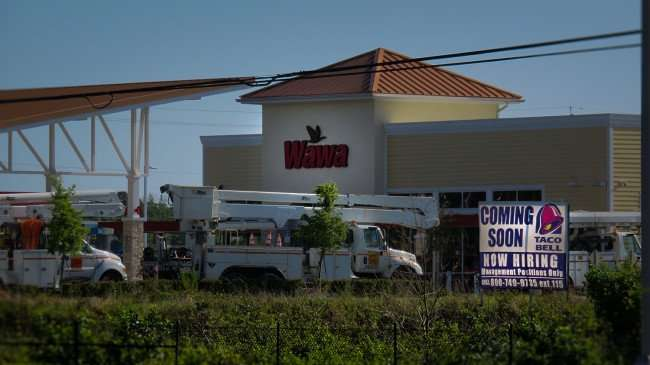 April 11, 2016 - Taco Bell under construction next to Wawa on S US Hwy 301 and Summerfield Crossings Blvd, Riverview, FL/photonews247.com