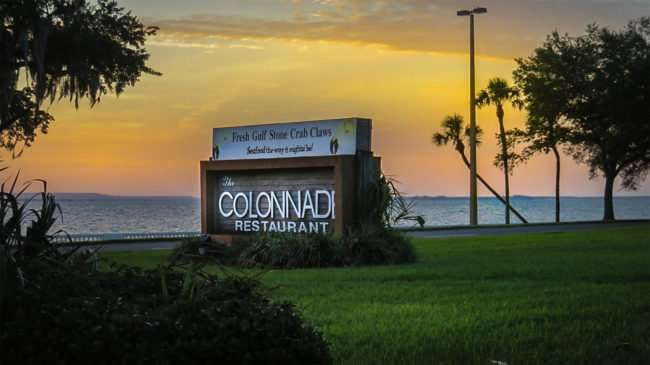 May 1, 2016 - The Colonnade Restaurant closed 2016, Tampa/photonews247.com