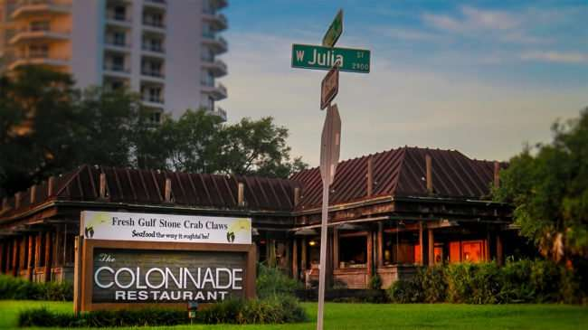 May 1, 2016 - The Colonnade Restaurant closed at Bayshore Blvd. & W. Julia St, Tampa/photonews247.com