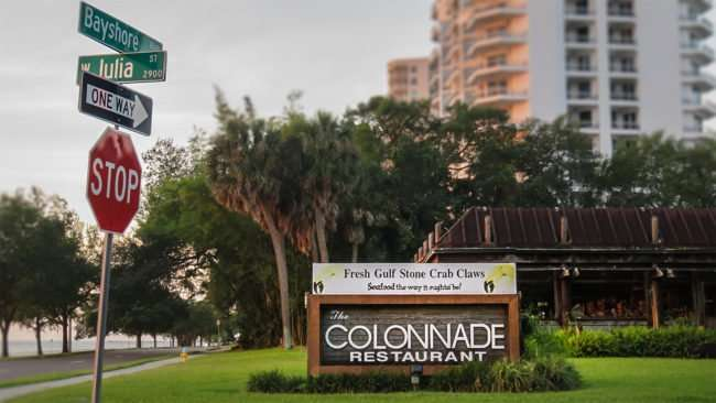 May 1, 2016 - The Colonnade closed at Bayshore Blvd & W Julia St, Tampa/photonews247.com