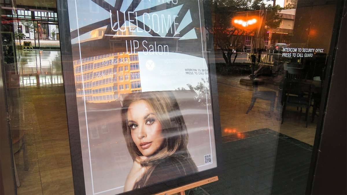 Feb 21, 2016 - Up Salon with owners and hairstylists Kim Klein and Ashley Sundeck on Central Avenue in downtown St. Petersburg, FL/photonews247.com