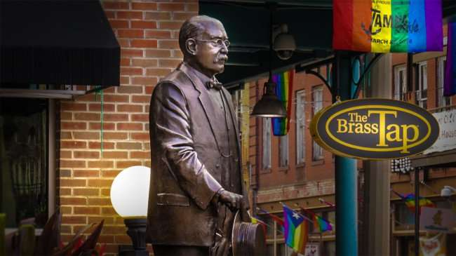 Mar 27, 2016 - Vicente Martinez Ybor honored with lifesize bronze statue along 7th Street by his old cigar factory that's now Ybor Centro in Tampa FL/photonews247.com