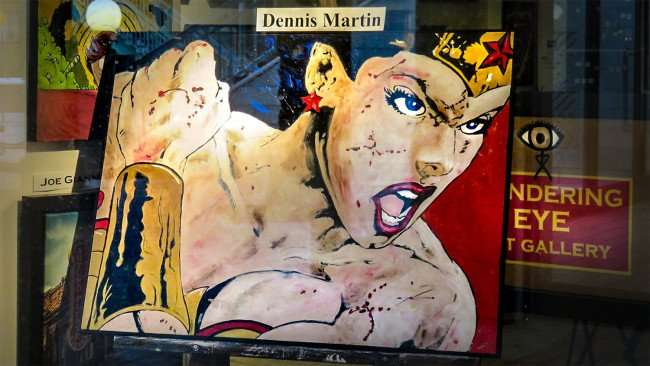 Mar 27, 2016 - Wondering Eye Art Gallery in Ybor Centro, Tampa featuring painting by Dennis Martin/photonews247.com